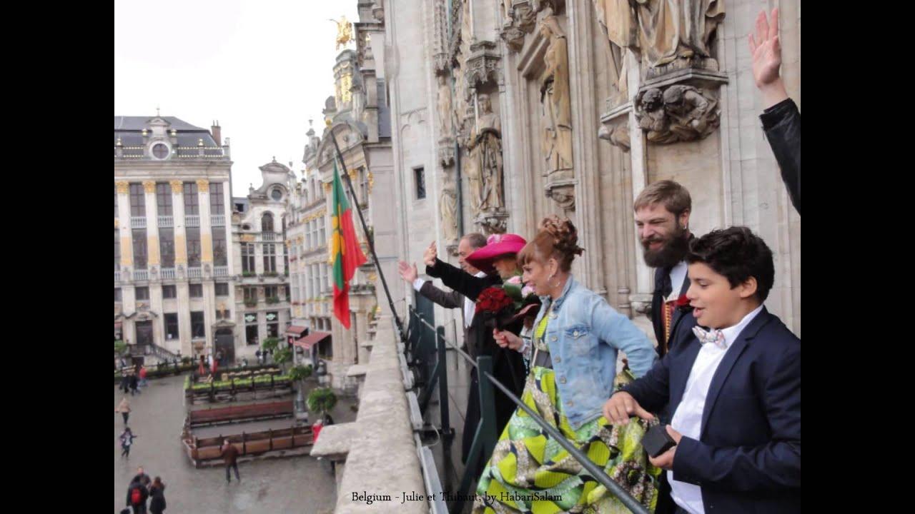 2012 belgique bruxelles mariage de thibaut et julie - Balcon de ville ...