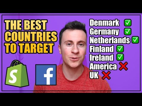 The BEST Countries To Target For Dropshipping | Shopify 2019 thumbnail
