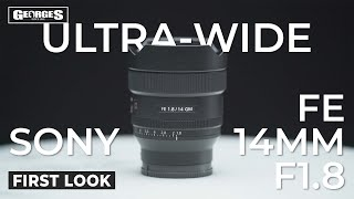 Ultra-Wide KING?! | Sony FE 14mm f1.8 GM Hands on Review
