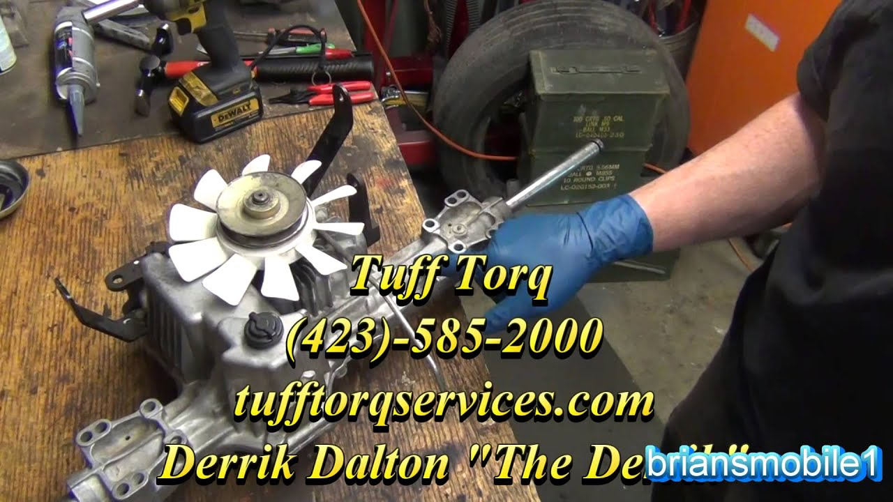 Part 2    John       Deere    LSeries Transmission Repair Rebuild