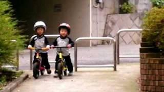 ストライダーランニングバイク