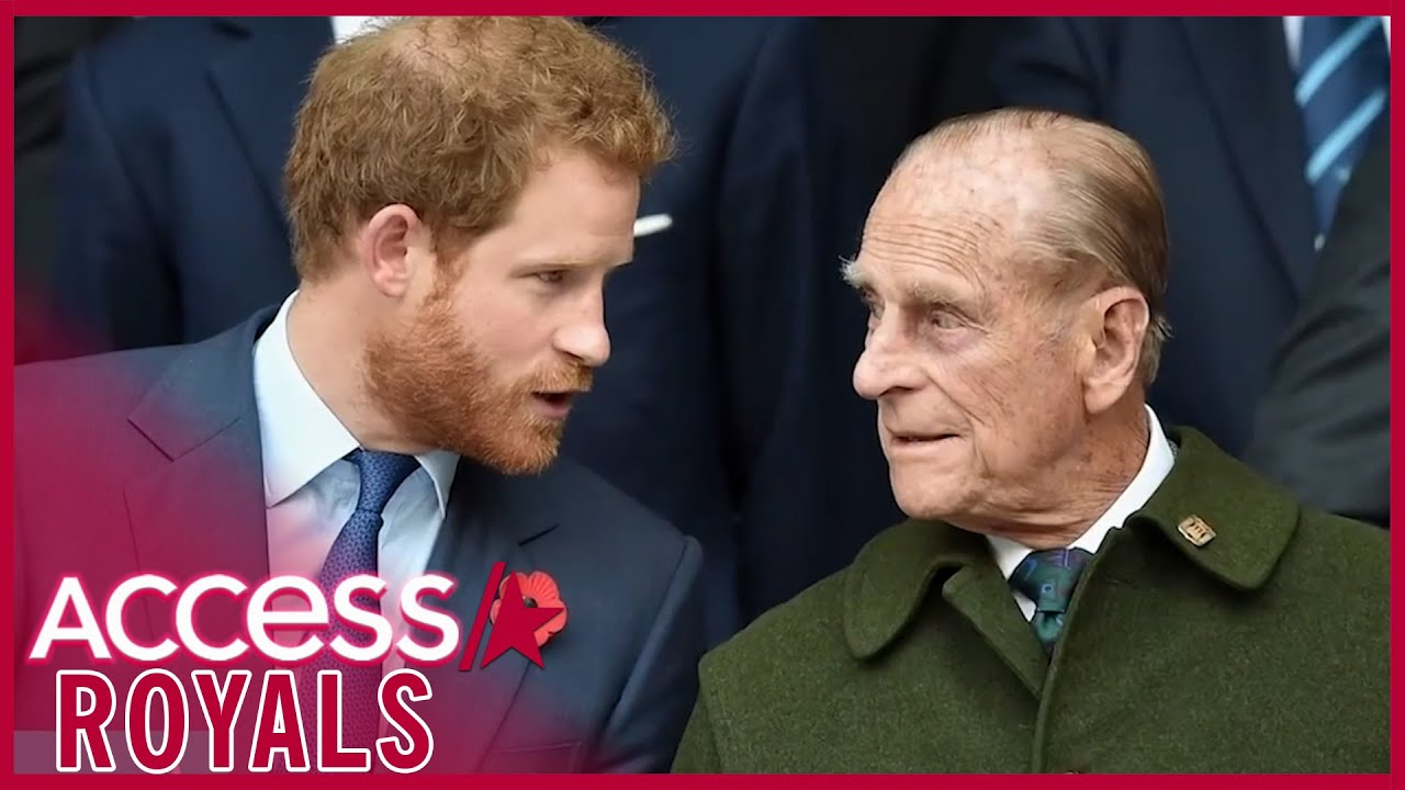 Prince Harry Arrives In UK Ahead Of Prince Philip's Funeral (Reports)