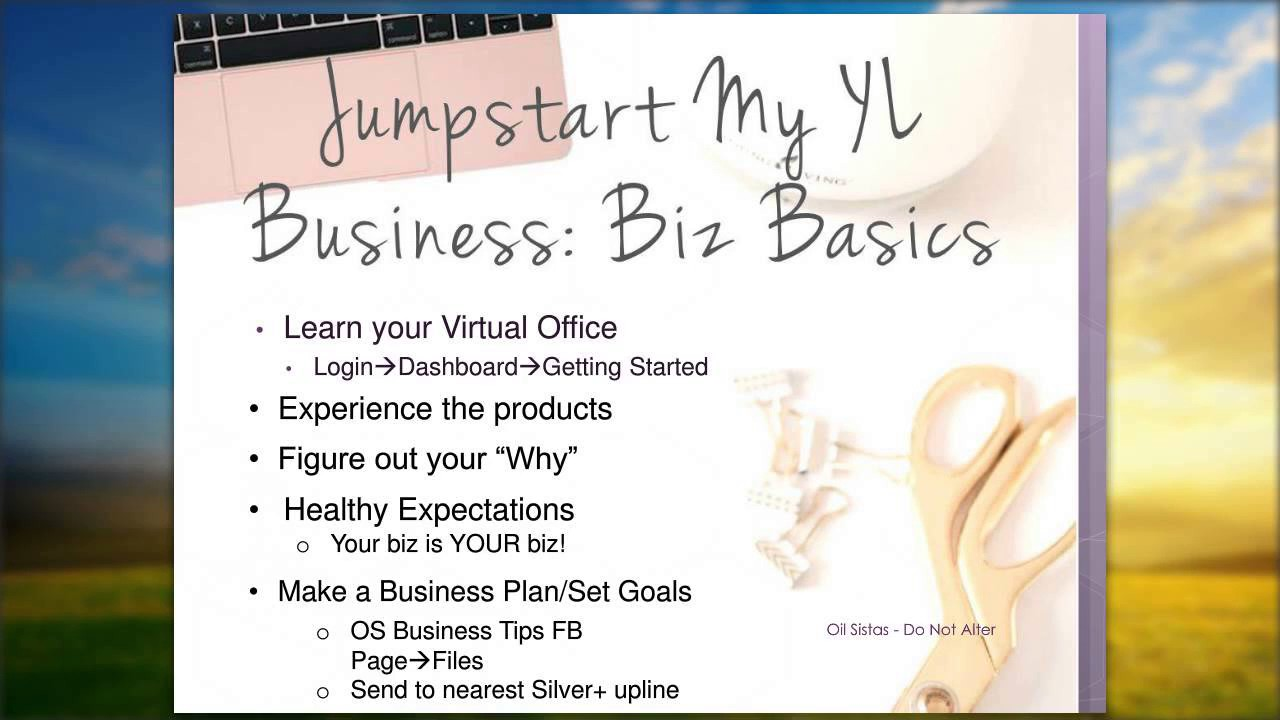 Jumpstart your YL Business A 60 day action plan for success