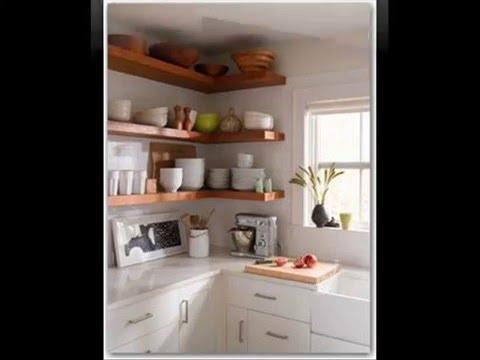 Cocina con estantes youtube for Estanterias para cocina ikea