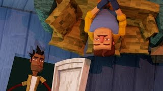 Minecraft | Hello Neighbor - HIDDEN UPSIDE DOWN ROOM! (Hello Neighbor in Minecraft)