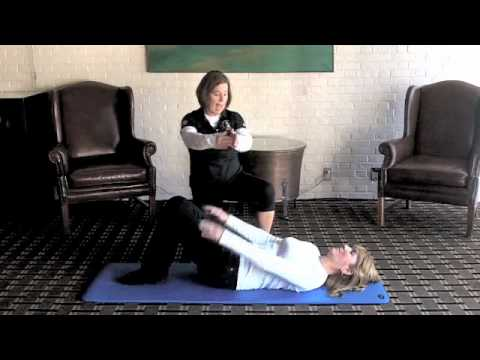Supine Bridge Glute Assessment for Golfers
