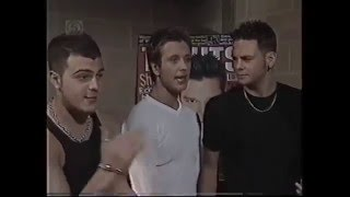 5ive five interview tv hits awards 1999
