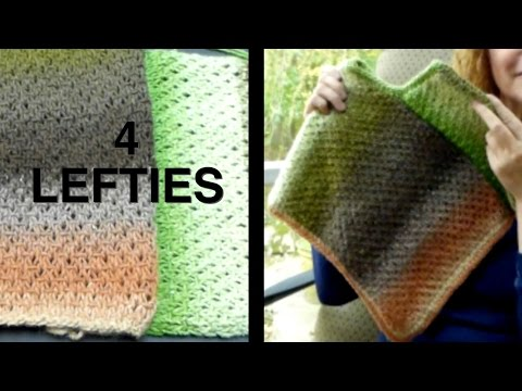 Watch How To Assemble 2-Panel PONCHO - Part 2/2 (4 Lefties)