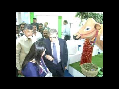 Bill gates Hall Chall In Visakhapatnam With Chandrababu | Billgates Coming  Visakha  | My Dream News