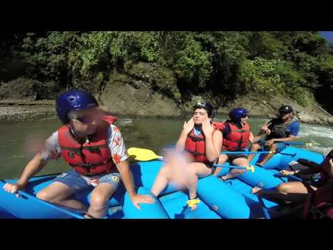 White water Rafting Pacuare River, Costa Rica