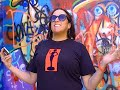 Janet Kuypers many of her poems @ Graffiti Park in Austin's 2017 Poetry Bomb 4/30/17 (Sony camera).