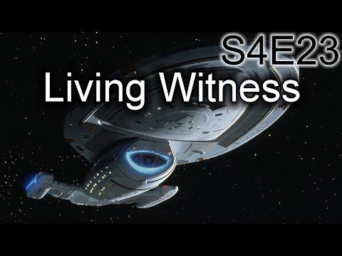 Star Trek Voyager Ruminations: S4E23 Living Witness