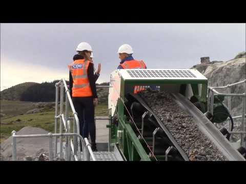 300tph C&D waste recycling plant in Norway