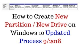 How to Create New Partition on Windows 10 - Updated Process