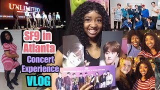 SF9 in ATL CONCERT & HI-TOUCH EXPERIENCE | SF9 in ATLANTA VLOG | Unlimited Tour