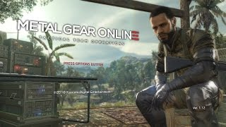 Metal Gear Online 3 Gameplay - MGO3 - Runnin