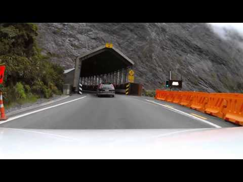 Milford road and Homer Tunnel