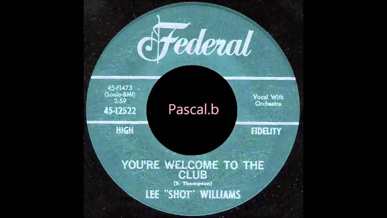 Lee Shot Williams - You Are My Dream/ I Feel An Urge Comin'