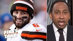 Freddie Kitchens, not Baker Mayfield, is to blame for the Browns' problems – Stephen A. | First Take