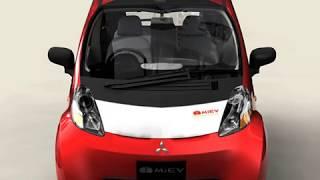 3D Model of Mitsubishi i MIEV Review