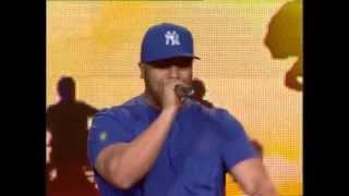 مسلم يؤدي أغنية الرسالة على بلاتو Big Up