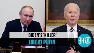 Watch: us vs russia tension intensifies after biden's 'killer' putin remark