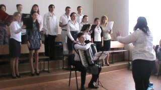 Государственный экзамен, заочное отделение. Дирижирует Марина Голубова