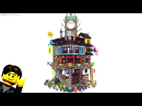 LEGO Ninjago City set full tour & review! 70620