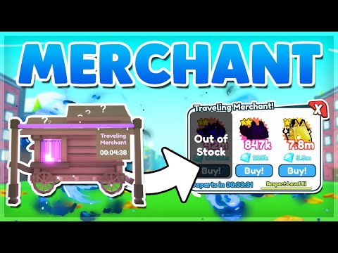 *NEW* PET SIMULATOR X MERCHANT UPDATE! NEW FEATURES! MAX RESPECT! AND MUCH MORE!