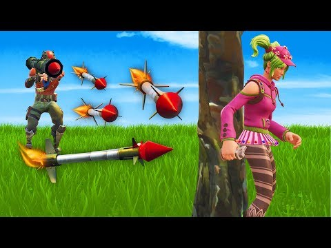 PLAYING GUIDED MISSILE HIDE AND SEEK! - Fortnite