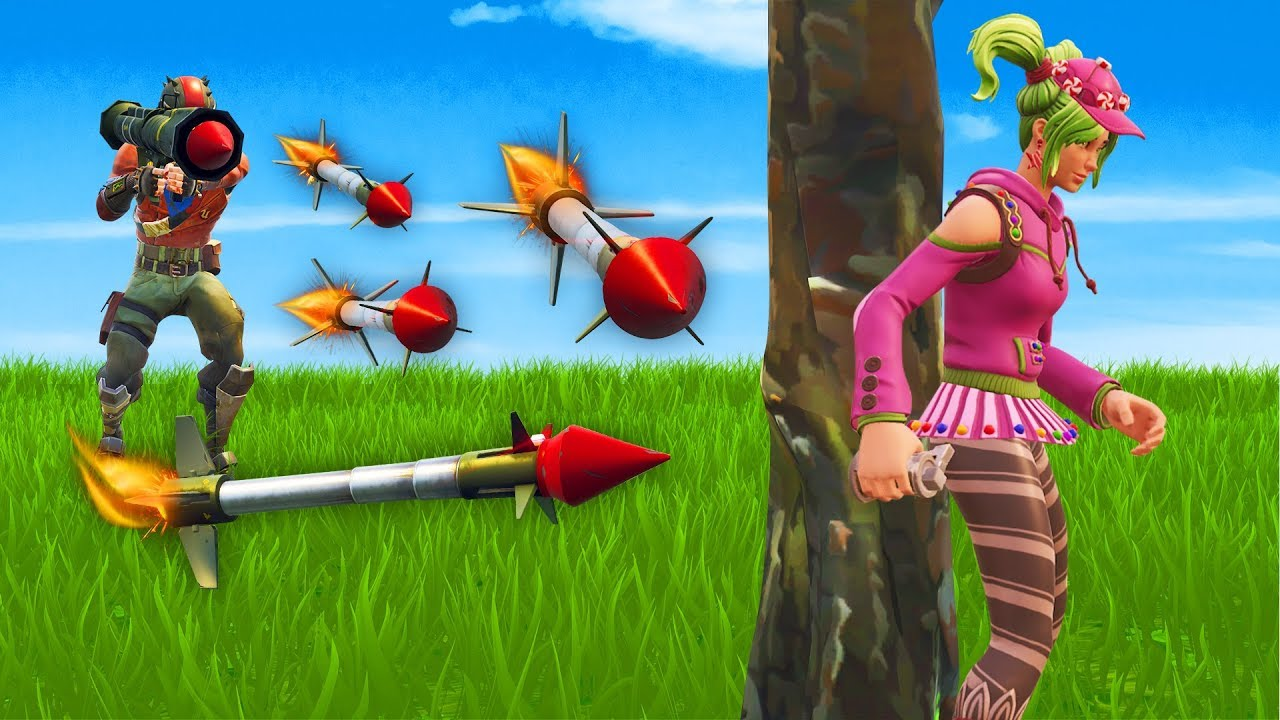 PLAYING GUIDED MISSILE HIDE AND SEEK  Fortnite  YouTube