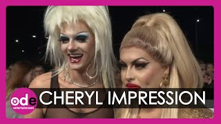 NTAs 2020: Drag Race star does a spot on Cheryl Cole impression