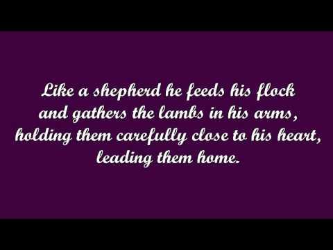Like a Shepherd (Bob Dufford, SJ)
