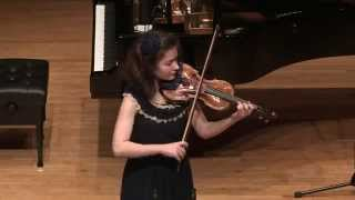 Anna Savkina plays J.S.Bach - Violin Sonata No.1 in g minor. Fugue. [2/4]