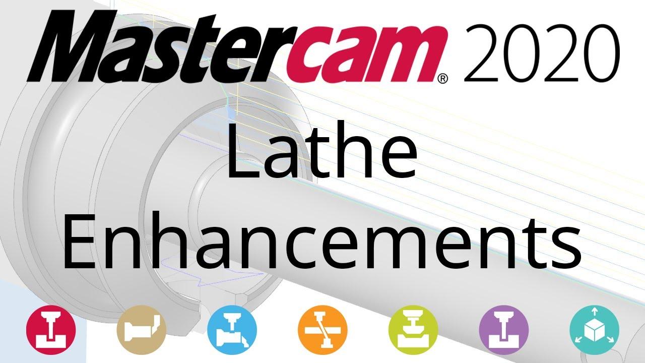 What's New in Mastercam 2020: Lathe