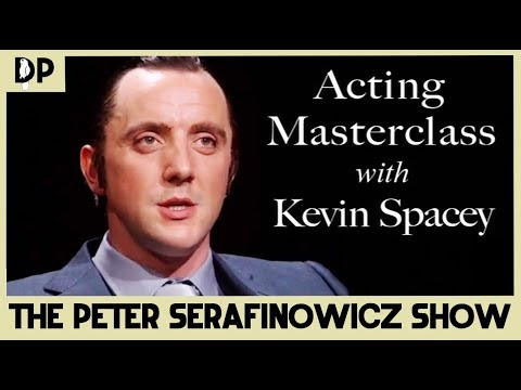 Acting Masterclass with Kevin Spacey - The Peter Serafinowicz Show | Dead Parrot