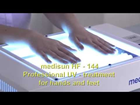 UV-therapy professional treatment of psoriasis, eczema, dyshidrotic eczema and vitiligo