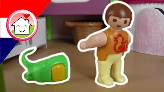 Playmobil filmpjes Nederlands Anna wil niet naar de kleuterschool - Familie Huizer