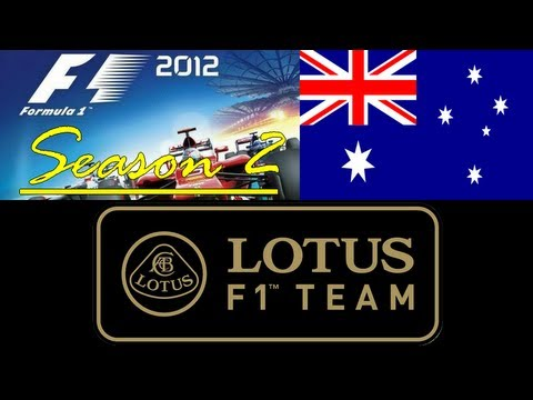 ►F1 2012 [Career S2]◄ Australie / Australia [Season Debut] - Lotus F1 Team