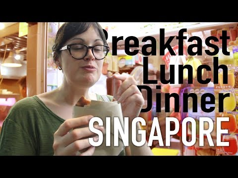Amazing $5 meals in the World's most Expensive City // Singapore Eats