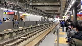 相鉄12000系 羽沢横浜国大駅到着