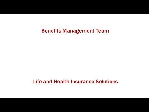 Insurance Graduates - Benefits Management Team