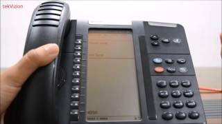 """How to obtain IP Address from Mitel IP Phone"""