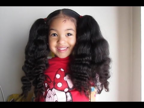 Smartest 4 Year Old Mixed Curly Hair