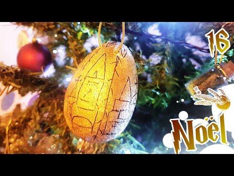 Comment Jour16: DIY HARRY POTTER Oeuf d'or | Sapin de Noël ?