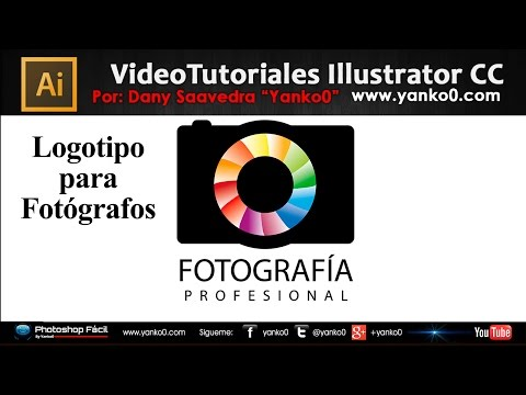 Tutorial Illustrator Logotipo para Fotógrafos by Yanko0
