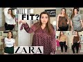WILL IT FIT!? - ZARA | Sarah Rae Vargas