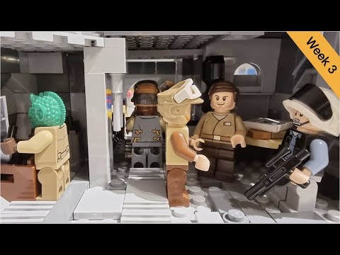 Lego Star Wars Ring of Kafrene Moc | Folge 3 | Rebellen im Untergrund | Brickstory Moc Contest