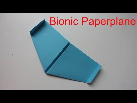 Bionischer Papierflieger