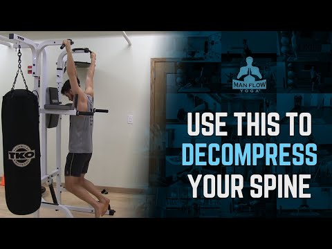 Use THIS One Thing to Decompress Your Spine After a Workout | Spinal Decompression | #yogaformen
